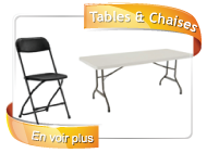 location achat tables chaises