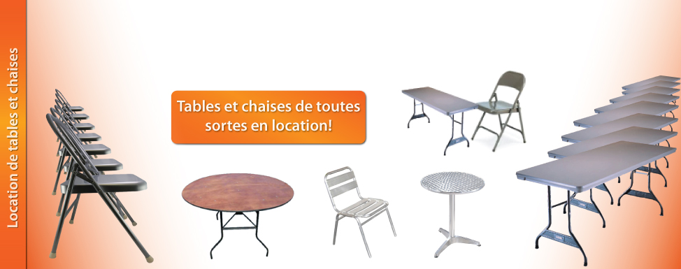 Location Chaise Et Table